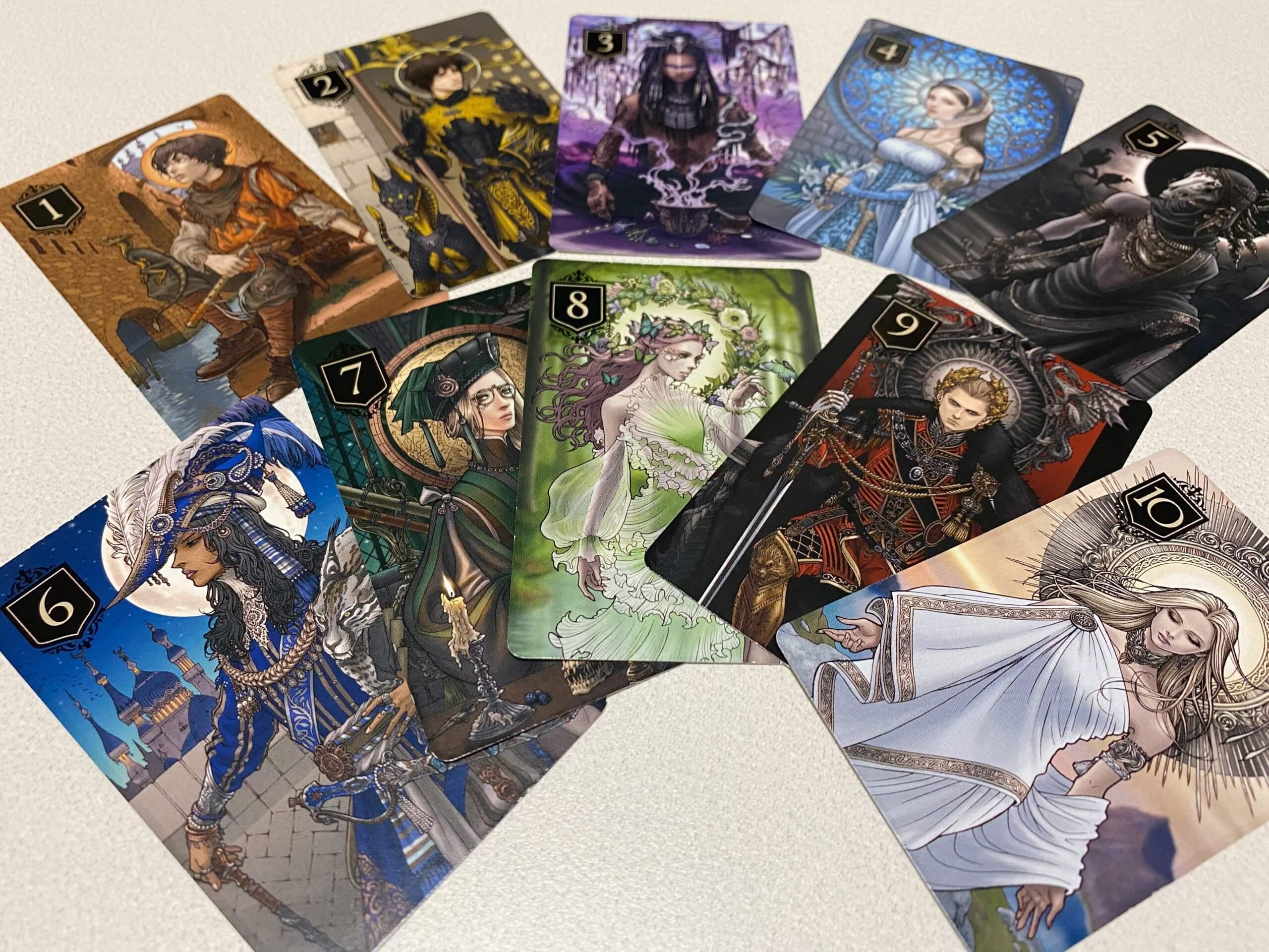 ゼノのカード種類一覧