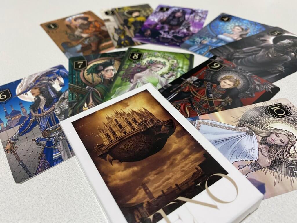 ゼノのカード種類一覧1