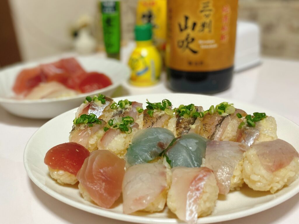 お家でお  寿司